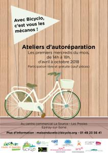 Bicyclo - 1 - Vélo en résidence - Epinay
