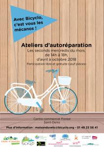 Bicyclo - 2 - Vélo en résidence - Saint-Denis