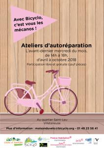 Bicyclo - 3 - Vélo en résidence - Villetaneuse