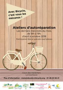 Bicyclo - 4 - Vélo en résidence - La Courneuve